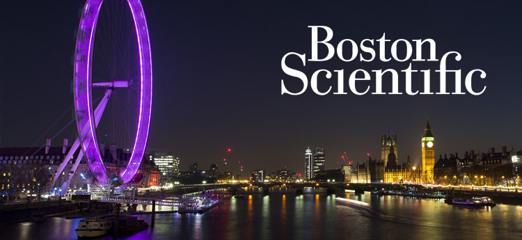 Educare webinar Boston Scientific live vanuit Londen en Boston